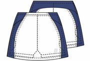 Prince Skirt with built-in Short