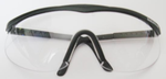 S & W Solid Bridge Squash / Racquetball Goggles