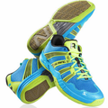 Last few - Salming 2015 Race R1 2.0 Men's Court Shoes, Cyan