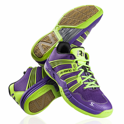 Last few - Salming 2015 Race R1 2.0 Men's Court Shoes, Purple