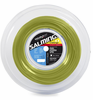 Salming Challenge Slick 17g Squash String, Yellow, REEL