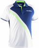 Salming Men's Performance Polo, Navy / Gecko Green
