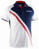 Salming Men's Performance Polo, Navy / White