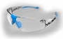 Salming Split Vision Goggles, Cyan