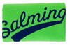 Salming Wide Wristband, Green / Navy, 1-pack