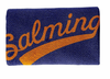 Salming Wide Wristband, Navy / Orange, 1-pack