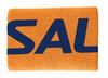 Salming Wide Wristband, Orange / Navy, 1-pack