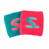 Salming Wristband, Diva Pink / Turquoise, 2-pack