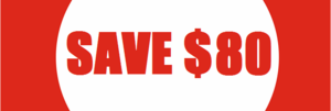 Biggest Sale Ever: SAVE $80 per racket!