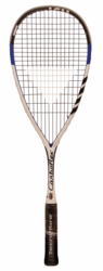 new color - Tecnifibre Carboflex 130 Basaltex Squash Racquet, Blue / White