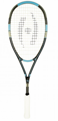2017 - Harrow Stealth Squash Racquet, Black / Grey