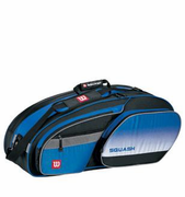 Wilson All Gear Squash Bag, light blue