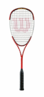 Wilson nTour Squash Racquet, with cover, CUSTOM STRUNG
