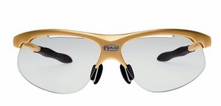 Wilson nVUE Goggles, Gold frame