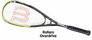 Wilson Rollers Overdrive Squash Racquet