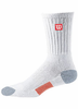 Wilson Tour Blend Crew Socks, Black, 1-pair pack