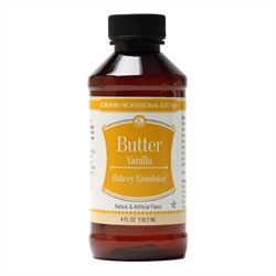 BUTTER-VANILLA EMULSION - 4 oz.