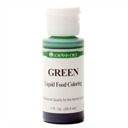 SALE PRICE! Green Liquid Food Coloring - 1oz