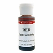 SALE PRICE! Red Liquid Food Coloring - 1oz