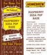 RASPBERRY   Soda Extract, 2 fl. Oz. (60 ml.) Makes 4 Gallons