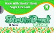 NEW!!! Stevita SteviaDent Sugar Free Natural Spearmint Gum - 1 single blister pack of 12 pieces of gum
