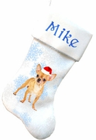 Chihuahua Dog Christmas Stockings