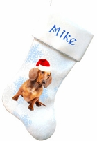 Dachshund Christmas Stockings