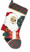 Hooked Christmas Stocking - Santa