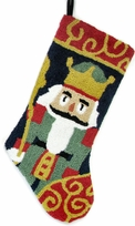 Nutcracker Christmas Stocking - Hooked