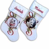 Personalized Pet Christmas Stockings - Dog Cat