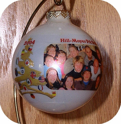 Photo Ornament - International Christmas Tree