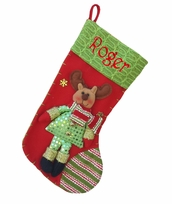Raspberry Reindeer Christmas Stocking Collection