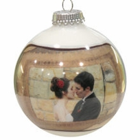 Romantic Personalized Photo Ornament