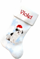 ShihTzu Christmas Stockings