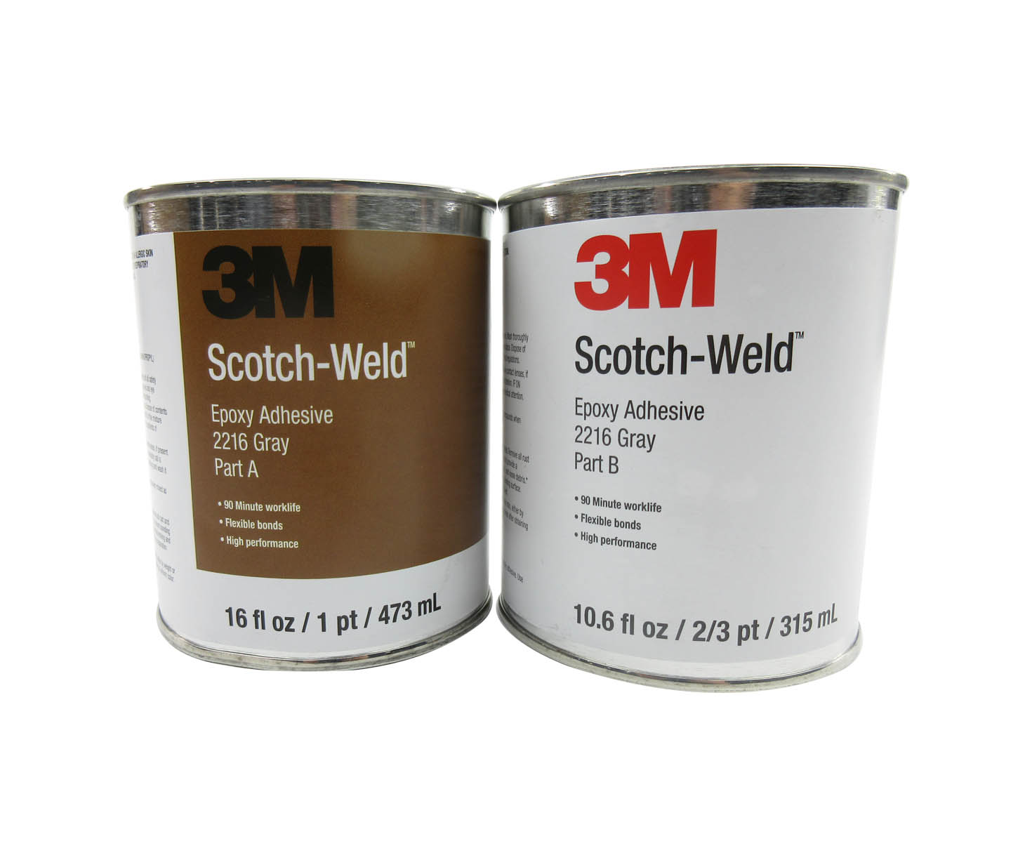 3M™ 021200-20354 Scotch-Weld™ 2216 B/A Gray Epoxy Adhesive - Pint Kit at  SkyGeek.com