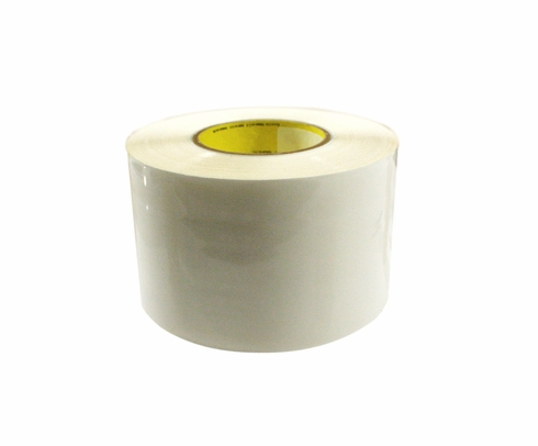 "3M™ 021200-39346 Transparent 8671 Polyurethane 14 Mil Protective Tape - 4"" x 36 Yard Roll"