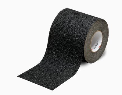 """3M� 048011-34734 Safety-Walk� 710 Black Slip-Resistant Coarse Tapes & Treads - 24"""" x 30' Roll"""