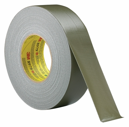 "3M� 048011-53916 Performance Plus� 8979 Olive Green 12.1 Mil Duct Tape - 1.88"" x 60 Yard Roll"