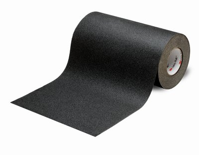 "3M� 048011-19235 Safety-Walk� 610 Black Slip-Resistant General Purpose Tapes & Treads - 12"" x 60' Roll"