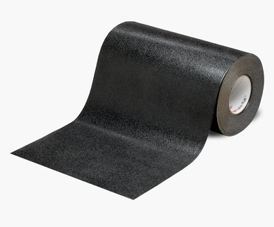 """3M™ 048011-19283 Safety-Walk™ 510 Black Slip-Resistant Conformable Tapes & Treads - 12"""" x 60' Roll"""