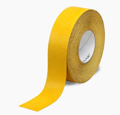 """3M� 048011-19289 Safety-Walk� 530 Yellow Slip-Resistant Conformable Tapes & Treads - 4"""" x 60' Roll"""