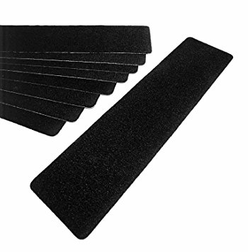 "3M™ 048011-19292 Safety-Walk™ 310 Black Slip-Resistant Medium Resilient Tapes & Treads - 6"" x 24"" Treads"
