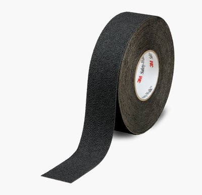 "3M™ 048011-19296 Safety-Walk™ 310 Black Slip-Resistant Medium Resilient Tapes & Treads - 4"" x 60' Roll"