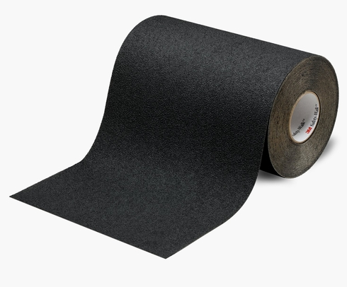 "3M™ 048011-19298 Safety-Walk™ 310 Black Slip-Resistant Medium Resilient Tapes & Treads - 12"" x 60' Roll"