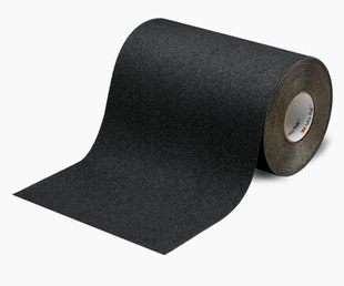 "3M™ 048011-19302 Safety-Walk™ 310 Black Slip-Resistant Medium Resilient Tapes & Treads - 48"" x 60' Roll"