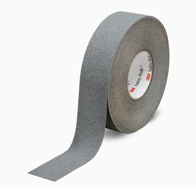 "3M™ 048011-19321 Safety-Walk™ 370 Gray Slip-Resistant Medium Resilient Tapes & Treads - 1"" x 60' Roll"