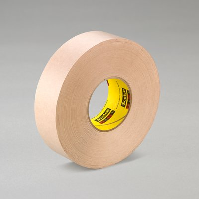 "3M� 021200-05418 Scotch� 346 Tan 16.7 Mil Heavy-Duty Protective Tape - 12"" x 60 Yard Roll"