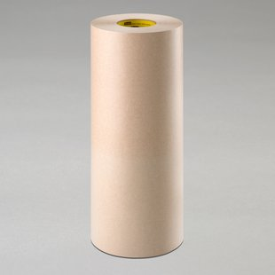 "3M� 021200-60909 Scotch� 346 Tan 16.7 Mil Heavy-Duty Protective Tape - 48"" x 60 Yard Roll"