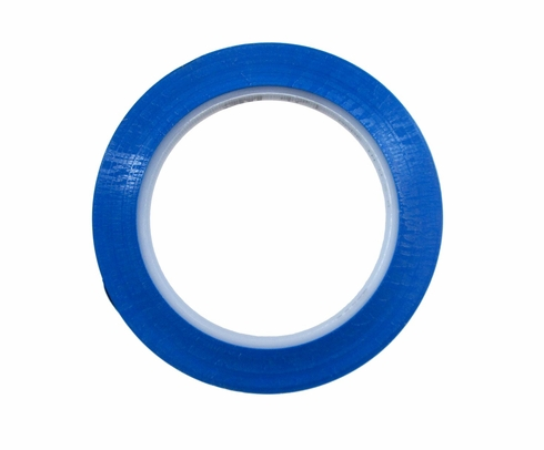 "3M� 021200-85611 Blue 471 Vinyl 5.2 Mil Tape - 3/8"" x 36 Yard Roll"