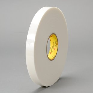 "3M™ 021200-39305 VHB™ 4951 White 45 Mil Acrylic Foam Tape - 2"" x 36 Yard Roll"
